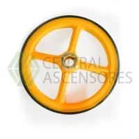 Poleas escala Thyssen Fraction Wheel